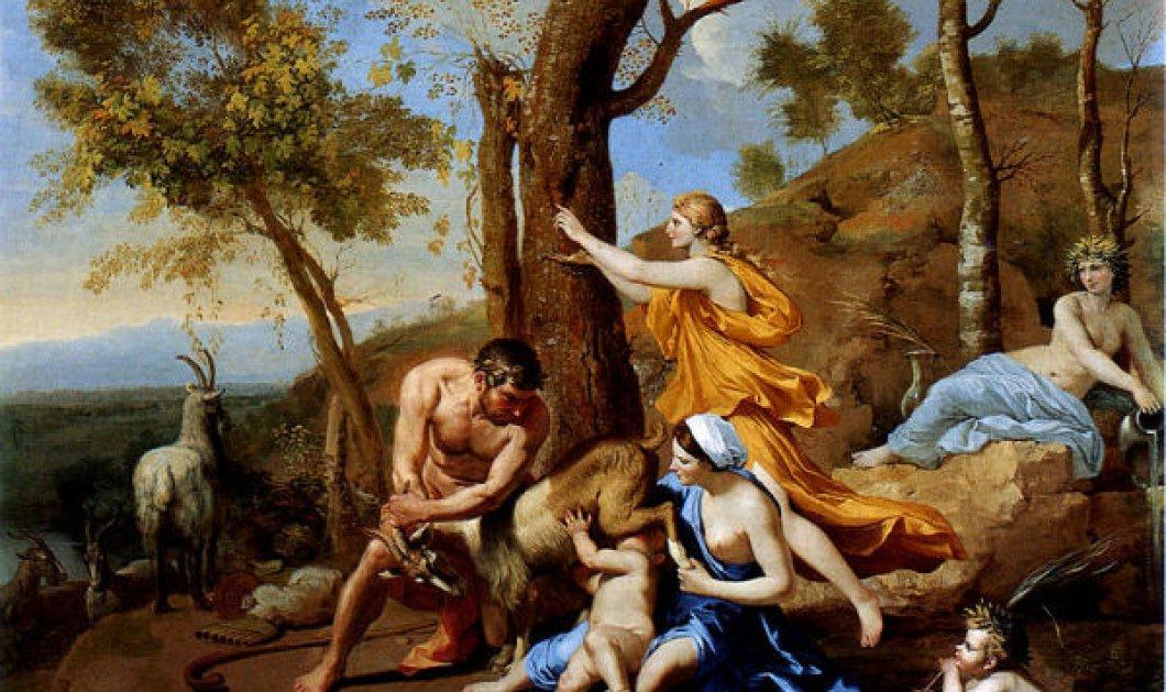 Greek Mythos: Τα παιδικά χρόνια του Δία που τρεφόταν με γάλα της κατσίκας Αμάλθειας & μέλι για να μεγαλώσει  - Κυρίως Φωτογραφία - Gallery - Video