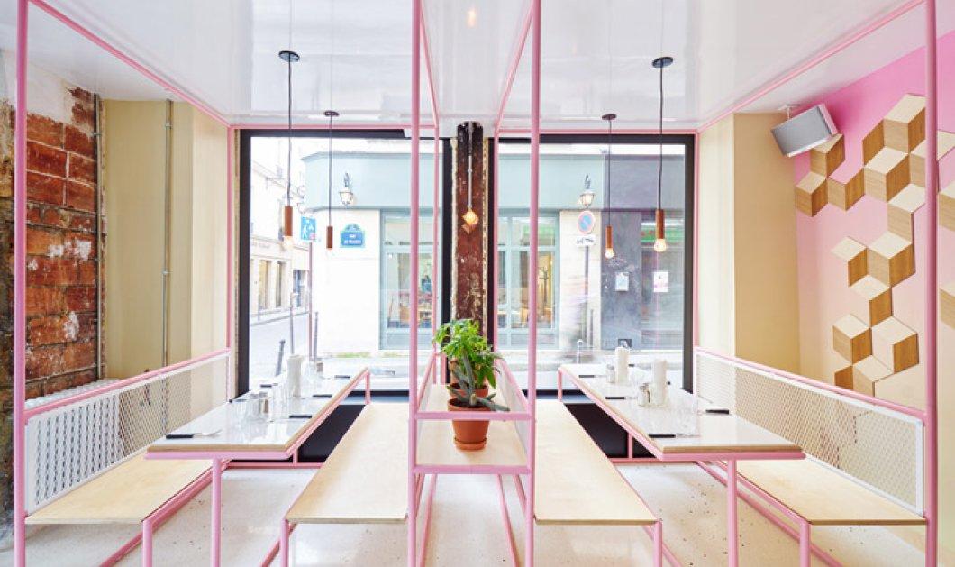 Το πιο μοντέρνο παστέλ ρεστοράν στο Παρίσι - Σας ανοίγει η όρεξη & έρχεται το κέφι! (φωτό) - Κυρίως Φωτογραφία - Gallery - Video