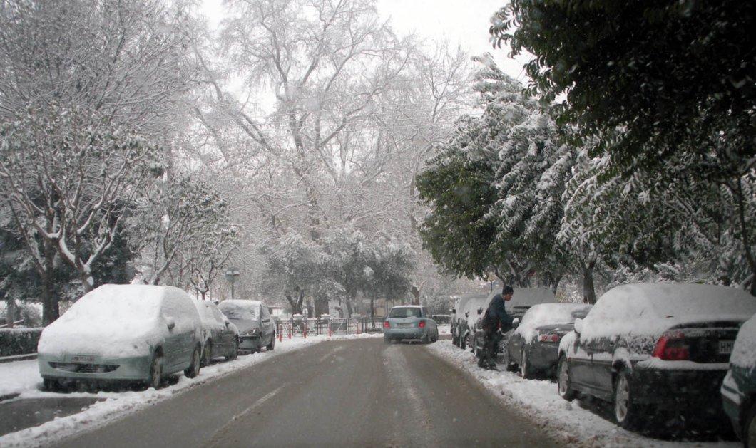 Νέο κύμα κακοκαιρίας με χιόνια σε όλη τη χώρα από τη Δευτέρα - Τσουχτερό κρύο και ραγδαία πτώση της θερμοκρασίας! - Κυρίως Φωτογραφία - Gallery - Video