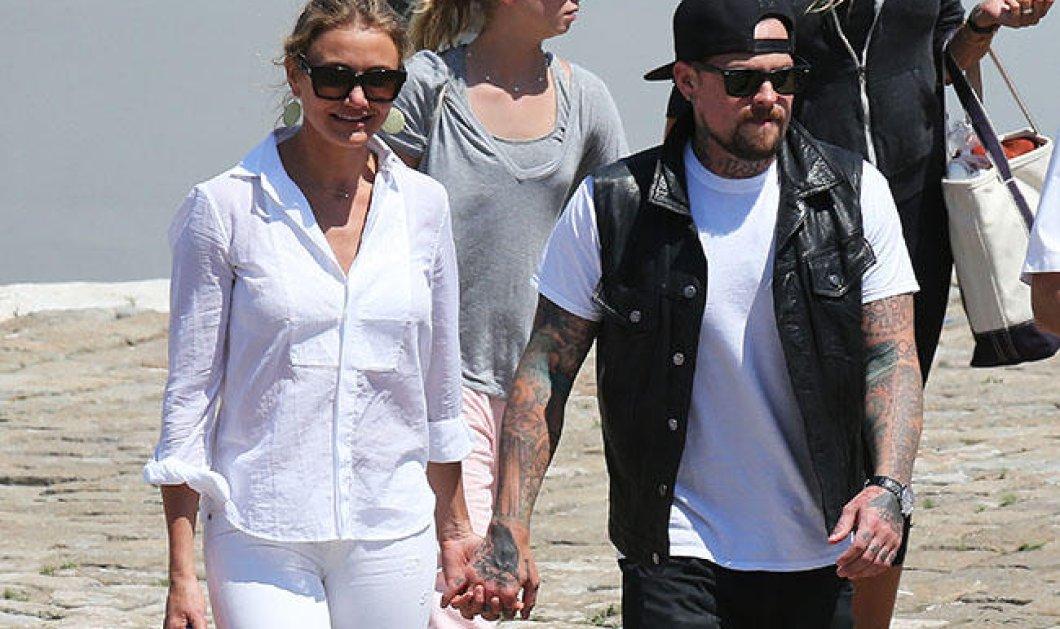 Επίσημο: Η Κάμερον Ντίαζ παντρεύτηκε τον αγαπημένο της Μπέντζι Μάντεν! Όλες οι λεπτομέρειες! - Κυρίως Φωτογραφία - Gallery - Video