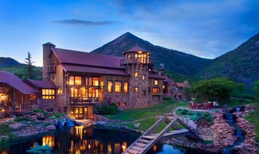 Τα 18 σπίτια των ονείρων σας στο βουνό! Παραμυθένιες βίλες από ξύλο ή φυσικά υλικά για να ζεσταίνεστε τον χειμώνα κι ας χιονίζει! - Κυρίως Φωτογραφία - Gallery - Video