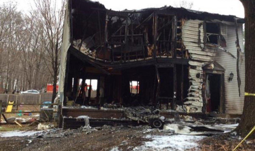 Τραγωδία! Αεροσκάφος έπεσε σε σπίτι: νεκροί οι 3 επιβαίνοντες αλλά και η μητέρα με τα 2 παιδιά της που κοιμούνταν!  - Κυρίως Φωτογραφία - Gallery - Video