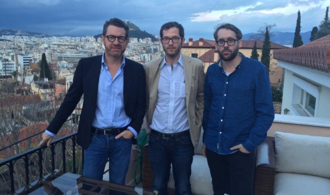 Διευθυντής και αρχισυντάκτες της Bild που ''λατρεύει'' να μας ''μισεί'' πάνω στην Ακρόπολη - Ποιος κάλεσε τους τρεις ''γυαλάκηδες'' Γερμανούς δημοσιογράφους! - Κυρίως Φωτογραφία - Gallery - Video