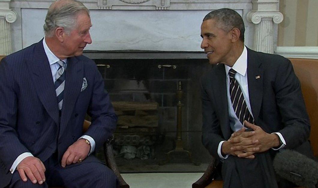 Μπάρακ Ομπάμα σε πρίγκιπα Κάρολο: «Οι Αμερικανοί αγαπούν πιο πολύ τη βασιλική οικογένεια παρά εμένα και τη Μισέλ» - Κυρίως Φωτογραφία - Gallery - Video