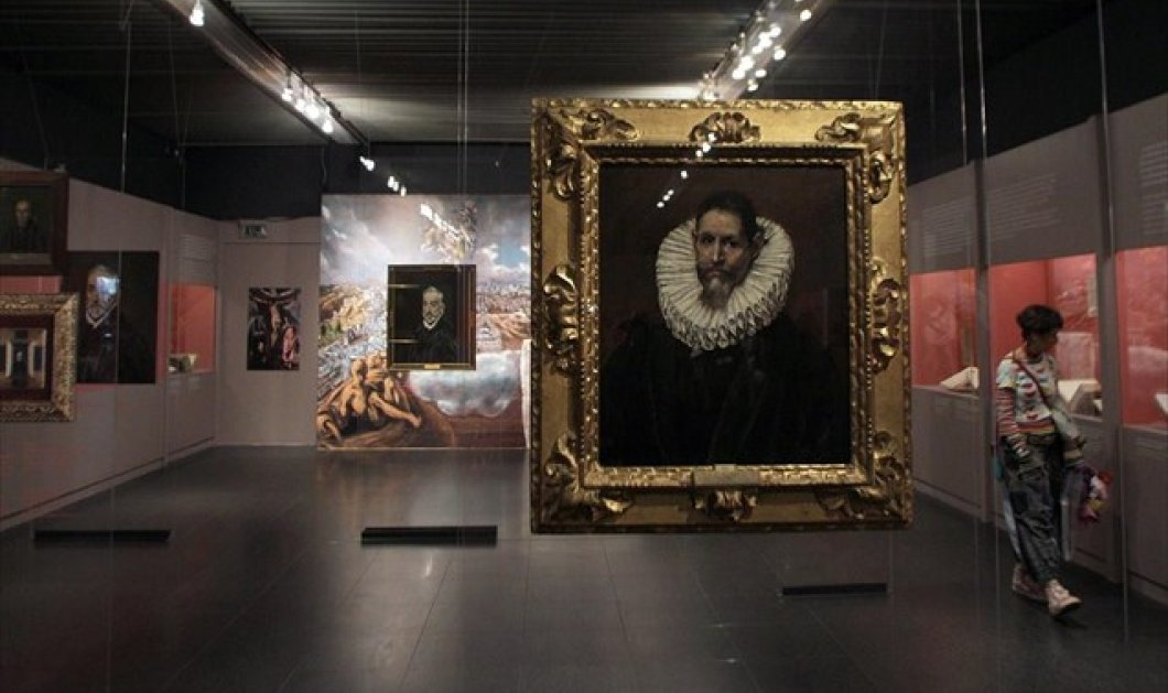 Mοναδικό αφιέρωμα στον Ελ Γκρέκο από την Εθνική Πινακοθήκη - Με τη βοήθεια της ψηφιακής τεχνολογίας φτάνουν στην Ελλάδα τα έργα του - Κυρίως Φωτογραφία - Gallery - Video