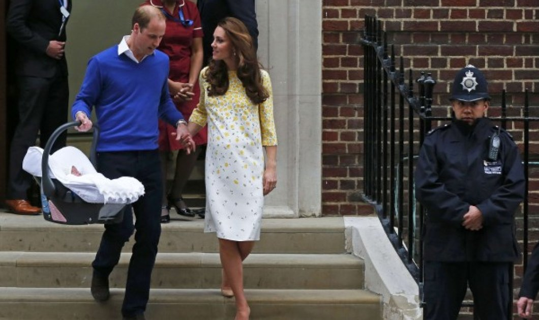 Σάλος από τι φήμες ότι η μικρή πριγκίπισσα γεννήθηκε από παρένθετη μητέρα - Η Κέιτ δεν έμοιαζε με λεχώνα  - Κυρίως Φωτογραφία - Gallery - Video