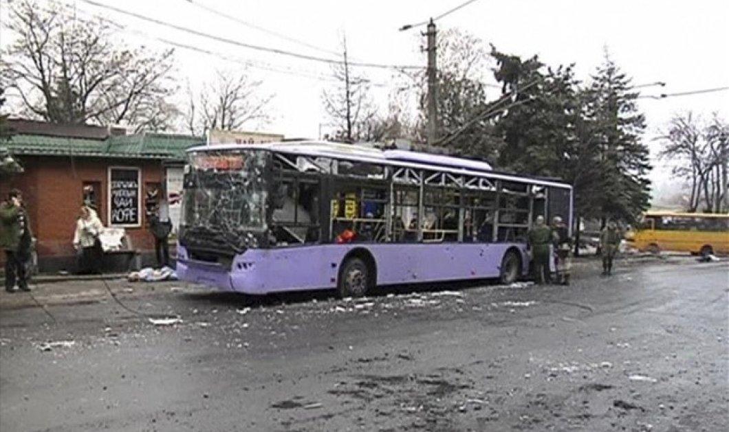 Νέο μακελειό στην Ουκρανία - Αιματοκύλισμα με 34 νεκρούς - 13 από ρήψη οβίδας σε στάση!  (φωτό - βίντεο) - Κυρίως Φωτογραφία - Gallery - Video