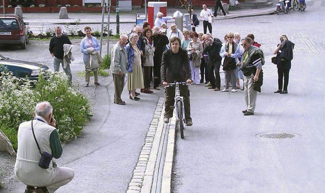 Καταπληκτικό! Δείτε τον 1ο κυλιόμενο διάδρομο παγκοσμίως για ποδήλατα που δημιούργησαν οι Νορβηγοί! (φωτό) - Κυρίως Φωτογραφία - Gallery - Video