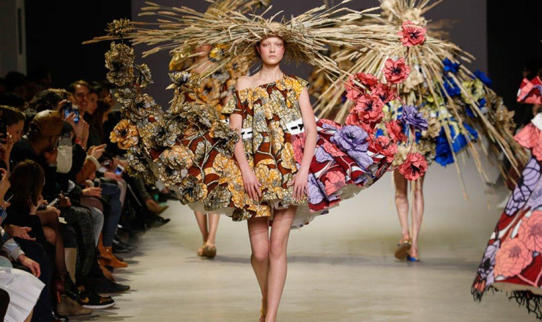 Ε-κ-σ-τ-α-τ-ι-κ-η! Το δίδυμο της μόδας Victor & Rolf κατέκτησαν το Παρίσι με ρούχα-πίνακες του Van Gogh! Εnjoy! - Κυρίως Φωτογραφία - Gallery - Video