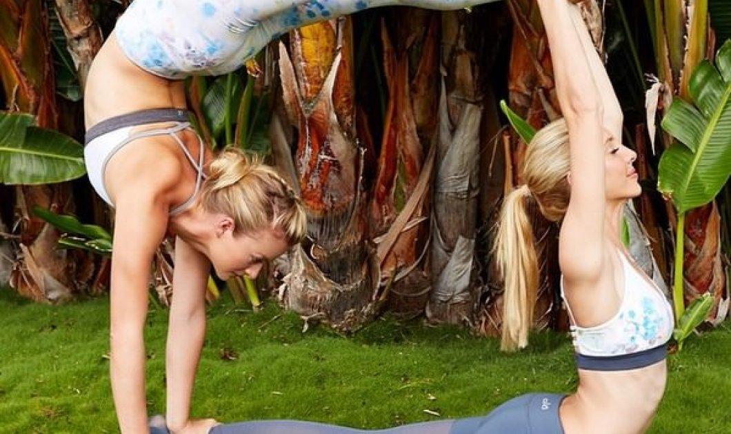 Partner Yoga - το πιο hot fitness Trend 2015 για να φτιάξετε ένα σώμα όλο τρέλα! - Κυρίως Φωτογραφία - Gallery - Video