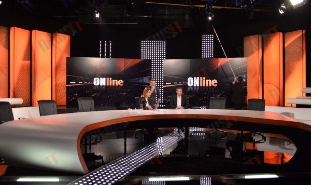 Στα παρασκήνια της εκπομπής «On Line» με Τρέμη και Ευαγγελάτο - Τετάρτη 11 Μαρτίου η Πρεμιέρα! - Κυρίως Φωτογραφία - Gallery - Video