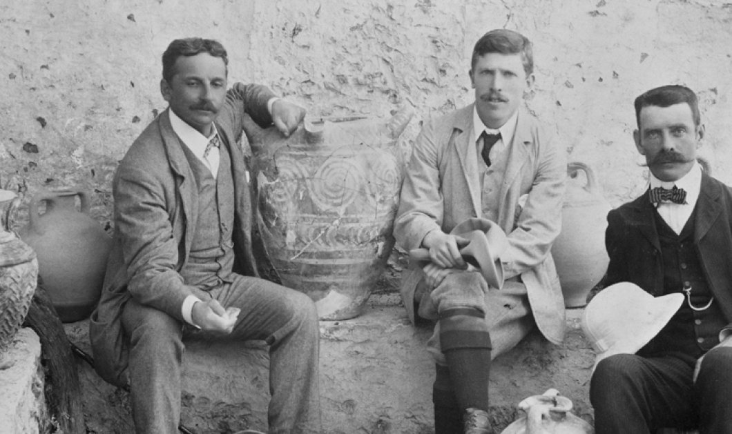 Vintage Story: Όταν ο μικρόσωμος μόλις 1,58 μ. Sir Άρθουρ Έβανς ανακαλύψε το μεγαλειώδες παλάτι της Κνωσού - ο πλανήτης είδε με άλλα μάτια την Ελληνική Ιστορία!  - Κυρίως Φωτογραφία - Gallery - Video
