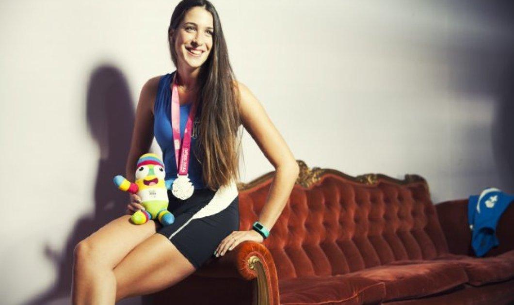 Τοpwoman η Αθηνά Αγγελοπούλου 1η λαμπαδηδρόμος στο Παναθηναϊκό Αθήνας, αργυρή Ολυμπιονίκης νέων & χάλκινη πρωταθλήτρια κωπηλασίας! ουάου! - Κυρίως Φωτογραφία - Gallery - Video