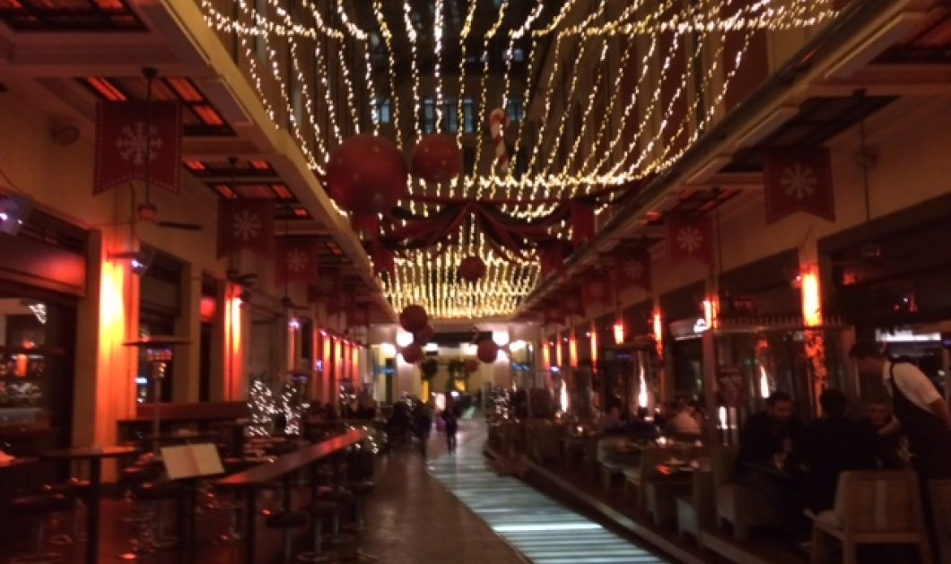 Στοά Σπυρομήλιου: Νύχτα στο κέντρο με Passaji & City Bistro στα γιορτινά τους! - Κυρίως Φωτογραφία - Gallery - Video