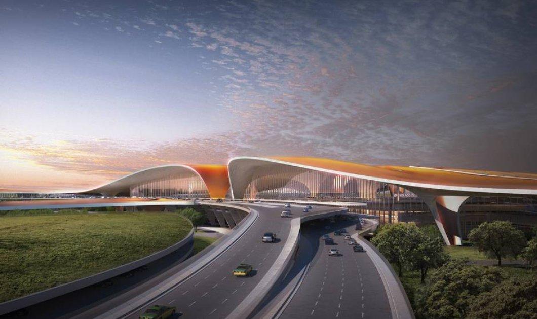 Zaha Hadid: Η σπουδαία αρχιτέκτονας έκανε πάλι το θαύμα της - Δείτε το πιο ντιζαινάτο, όμορφο αεροδρόμιο του κόσμου - Κυρίως Φωτογραφία - Gallery - Video