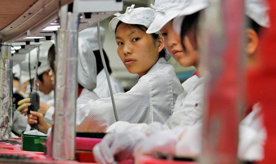 Δημοσιογράφοι του BBC δούλεψαν σαν εργάτες στο κινέζικο εργοστάσιο της Apple & αποκαλύπτουν εξοντωτικές συνθήκες !  - Κυρίως Φωτογραφία - Gallery - Video