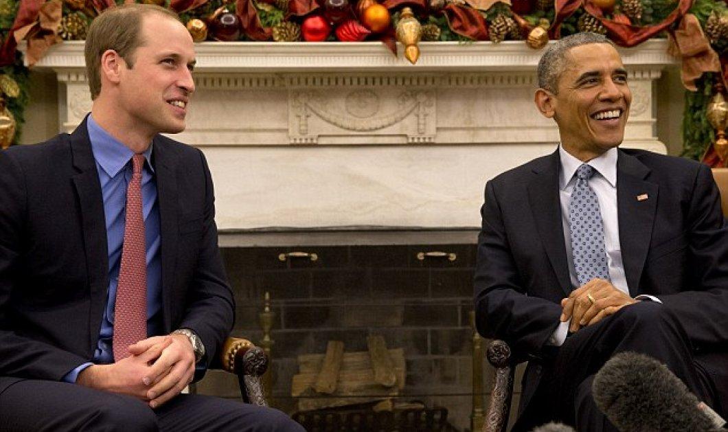 Ε, υπάρχει και ο πρίγκιπας Γουίλιαμ: Συνάντηση με τον Ομπάμα, γλυκύτατος με τη γυναίκα του, ζεστός & ανθρώπινος (φωτό & βίντεο) - Κυρίως Φωτογραφία - Gallery - Video