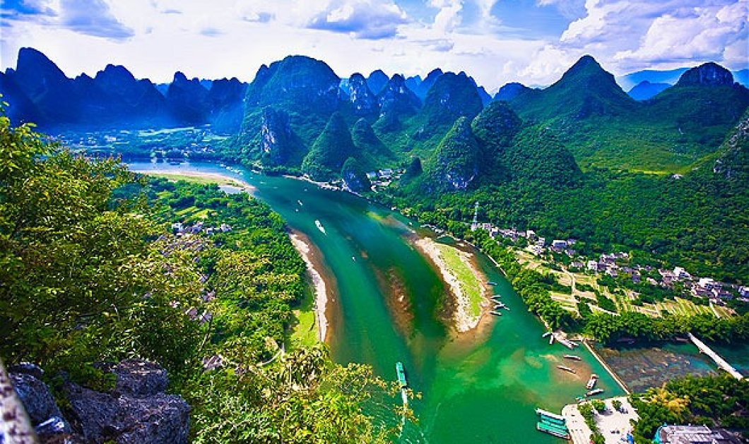 Έχετε δει ποτέ κάτι πιο παραδεισένιο & μαγευτικό από την πανέμορφη επαρχία Guanxi της Κίνας; Μοιάζει με νεραϊδούπολη!  - Κυρίως Φωτογραφία - Gallery - Video