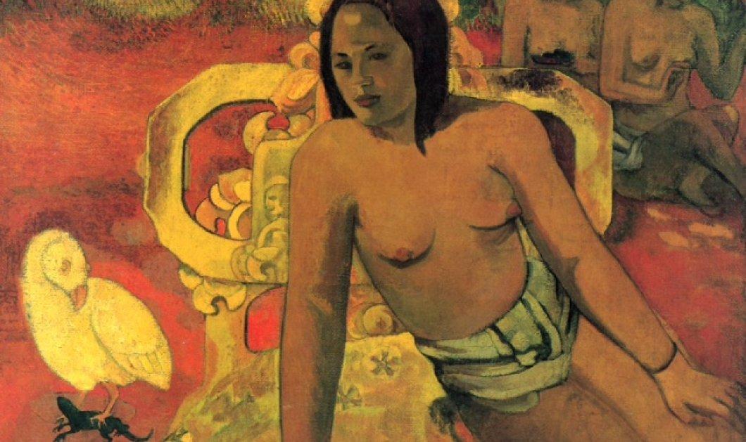 Οι θεσπέσιες γυμνές γυναίκες που ζωγράφισε στην παραλία της Αϊτής ο Πωλ Γκογκέν - Έντονα χρώματα, αισθησιασμός - Κυρίως Φωτογραφία - Gallery - Video