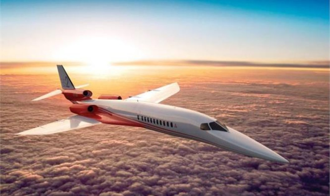 Good News: Αυτή είναι η νέα γενιά high tech αεροπλάνων που υπόσχεται να «αναστήσει» τα υπερηχητικά ταξίδια!  - Κυρίως Φωτογραφία - Gallery - Video