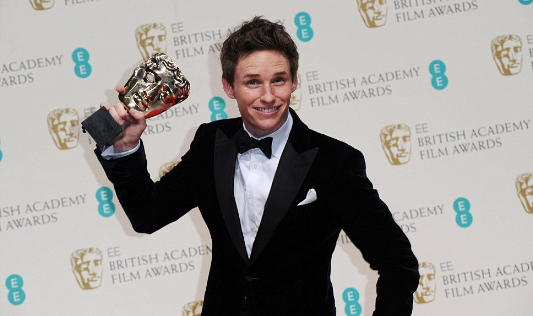 Τα βραβεία BAFTA & ο πύρινος λόγος του νικητή Eddie Redmayne που υποδύθηκε τον Stephen Hawking! (φωτό - βίντεο) - Κυρίως Φωτογραφία - Gallery - Video