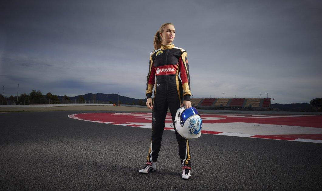 H εκθαμβωτική ξανθιά Carmen Jordá  θα εκτελεί χρέη δοκιμαστή στη Lotus και θα δοκιμάσει το ταχύτερο αυτοκίνητο στον κόσμο! - Κυρίως Φωτογραφία - Gallery - Video
