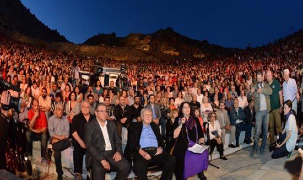 Μίκης Θεοδωράκης, η μεγάλη γιορτή: Με συγκίνηση το ΚΚΕ γιόρτασε τα 90 χρόνια του δημιουργού  - Κυρίως Φωτογραφία - Gallery - Video