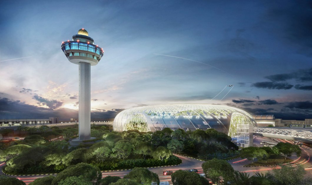 Project Jewel: Τα πρώτα σχέδια του φουτουριστικού αεροδρομίου της Σιγκαπούρης - Το Changi Airport είναι στ' αλήθεια «κόσμημα»! - Κυρίως Φωτογραφία - Gallery - Video