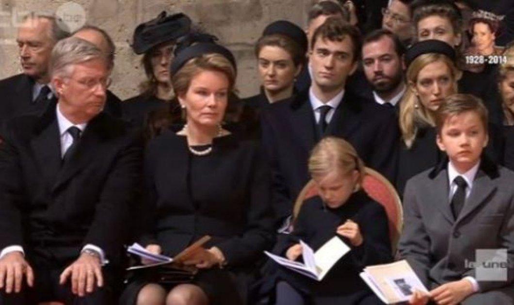 Το κλάμα των Πριγκηπόπουλων Gabriel & Eleonor στην κηδεία της γιαγιάς του τέως Βασίλισσας του Βελγίου Fabiola!  - Κυρίως Φωτογραφία - Gallery - Video
