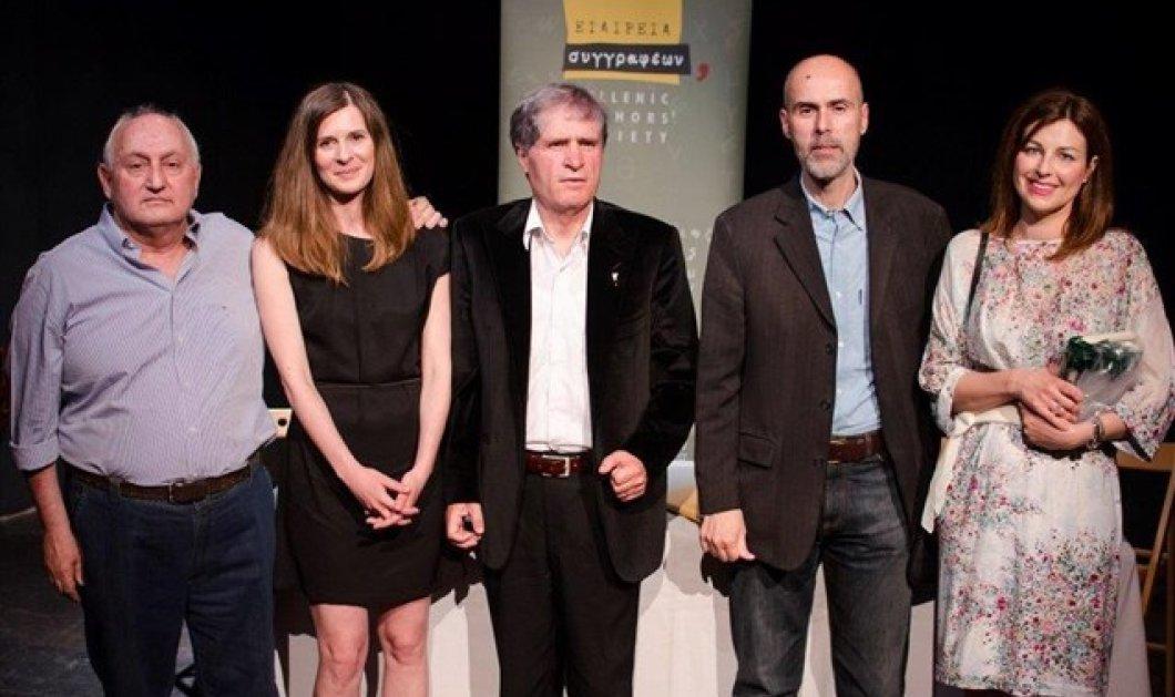 "Topwoman η Ειρήνη Μαργαρίτη η ποιήτρια που έλαβε το Βραβείο ""Γιάννη Βαρβέρη"" 2015 - Κυρίως Φωτογραφία - Gallery - Video"