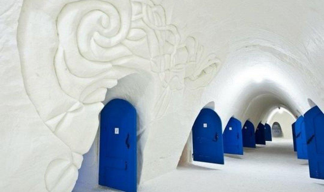 10 εντυπωσιακά παλάτια από πάγο - Αυτά είναι τα πιο παραμυθένια ξενοδοχεία από πάγο στον κόσμο! - Κυρίως Φωτογραφία - Gallery - Video