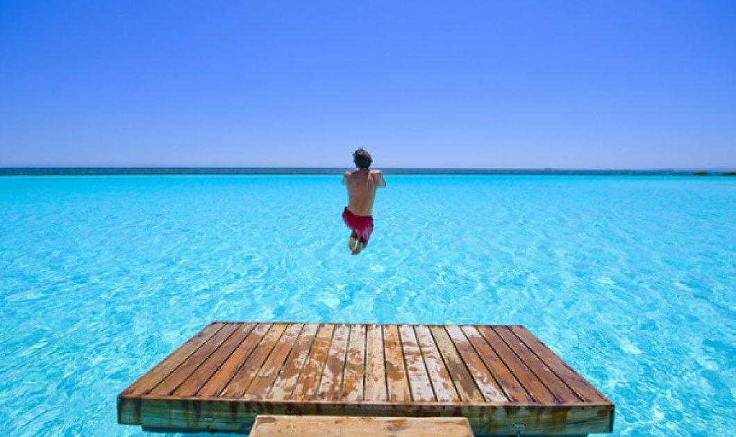 Είστε έτοιμοι για μια βουτιά στη μεγαλύτερη πισίνα του κόσμου; Βρίσκεται στη Χιλή και έχει μήκος 1 ολόκληρο χιλιόμετρο! (slideshow) - Κυρίως Φωτογραφία - Gallery - Video