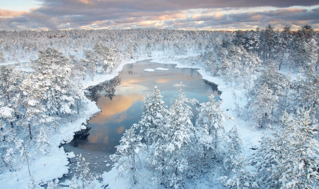 Πανέμορφα και εντυπωσιακά χειμωνιάτικα σκηνικά που θα σας κάνουν να θέλετε να ανάψετε το τζάκι σας! Απολαύστε τα! - Κυρίως Φωτογραφία - Gallery - Video