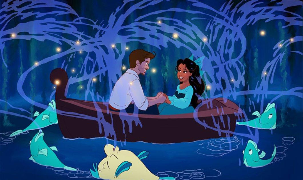 Ερωτευμένος νεαρός μετέτρεψε σε όλες τις πριγκίπισσες της Disney την αγαπημένη του και ιδού το ωραίο αποτέλεσμα! (Φωτό) - Κυρίως Φωτογραφία - Gallery - Video