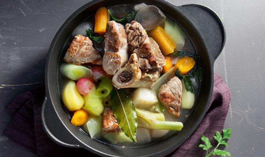 Βραστό με μοσχάρι και χειμωνιάτικα λαχανικά από την αείμνηστη Έυη Βουτσινά! - Κυρίως Φωτογραφία - Gallery - Video