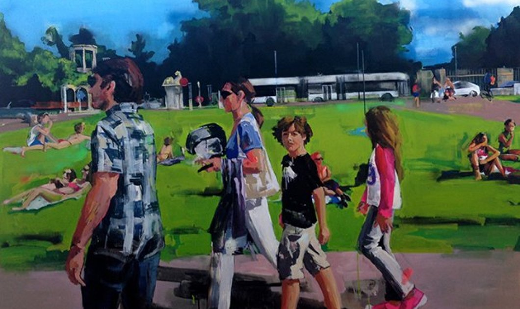 Τοp Woman η Στέλλα Καπεζάνου που ζωγράφισε το καταπληκτικό ανοιξιάτικο εξώφυλλο της Athens Voice! - Κυρίως Φωτογραφία - Gallery - Video