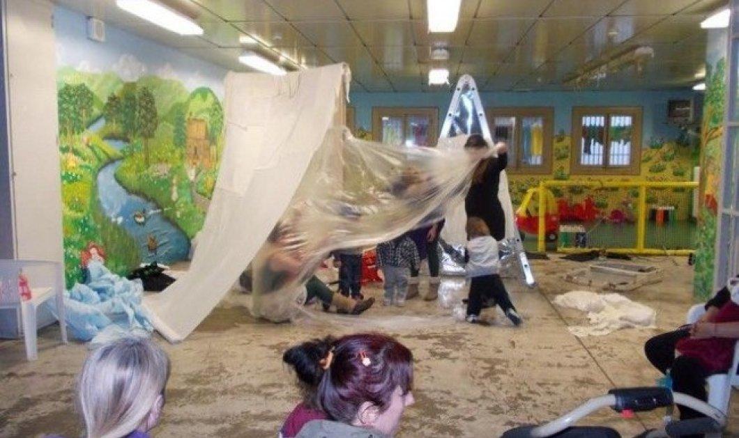 Λίγες ώρες με τις μωρομάνες στις φυλακές γυναικών Θήβας και μια παράσταση για τα παιδιά που ζουν εκεί μαζί τους - Κυρίως Φωτογραφία - Gallery - Video