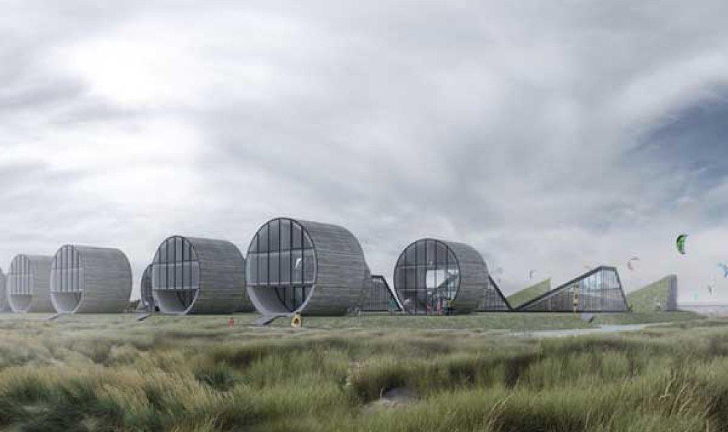 Πρωτότυπα, επαναστατικά και φουτουριστικά σπίτια σε μορφή... κυλίνδρου! Εσείς θα τα... εμπιστευόσασταν; (φωτό) - Κυρίως Φωτογραφία - Gallery - Video