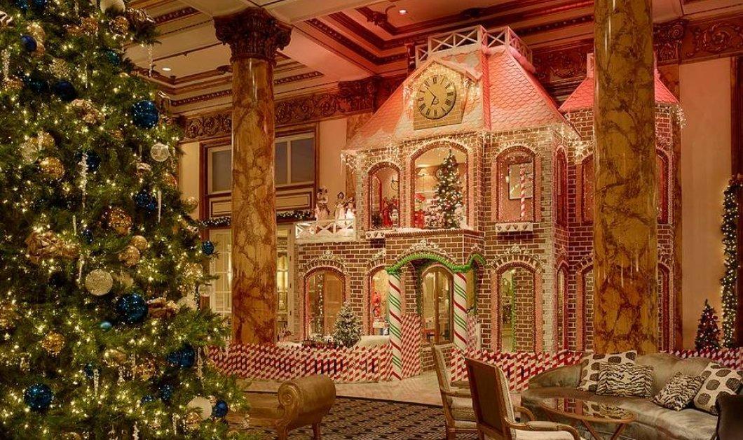 Βγαλμένα από Παραμύθι: Αυτά είναι τα 11 ξενοδοχεία με την πιο Χριστουγεννιάτικη διακόσμηση!! (φωτό) - Κυρίως Φωτογραφία - Gallery - Video