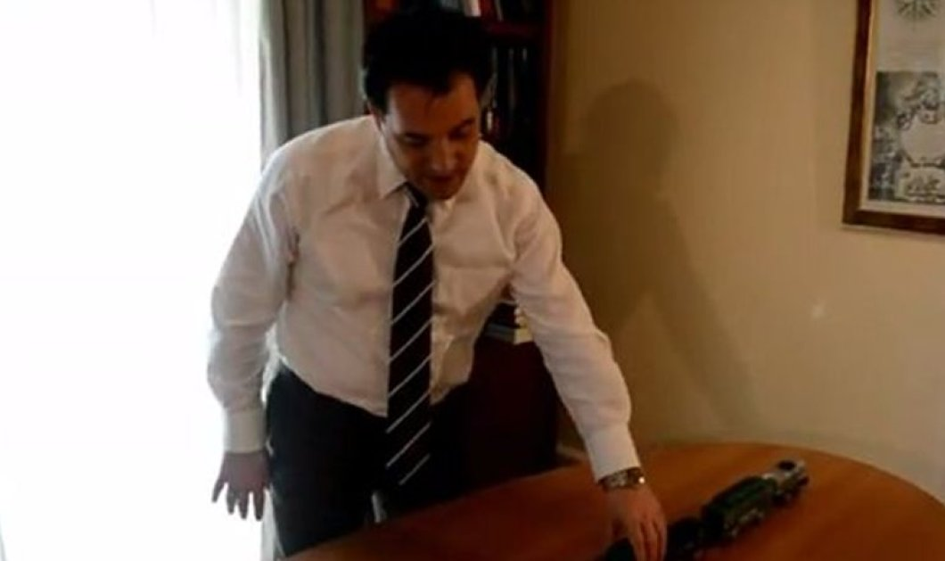 O Ά. Γεωργιάδης και τα... τρενάκια: Το γεμάτο νόημα & παραστατικό βίντεο του «γαλάζιου» υποψηφίου για το τι θα συμβεί στις 26 Γενάρη - Κυρίως Φωτογραφία - Gallery - Video