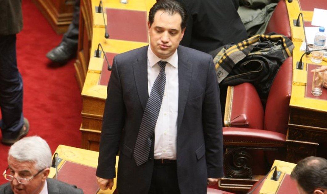 """Κατά της άρσης ασυλίας του Α. Γεωργιάδη ψήφισε η Βουλή - 216 κατά, 7 """"παρών"""" και 1 υπέρ - Κυρίως Φωτογραφία - Gallery - Video"""
