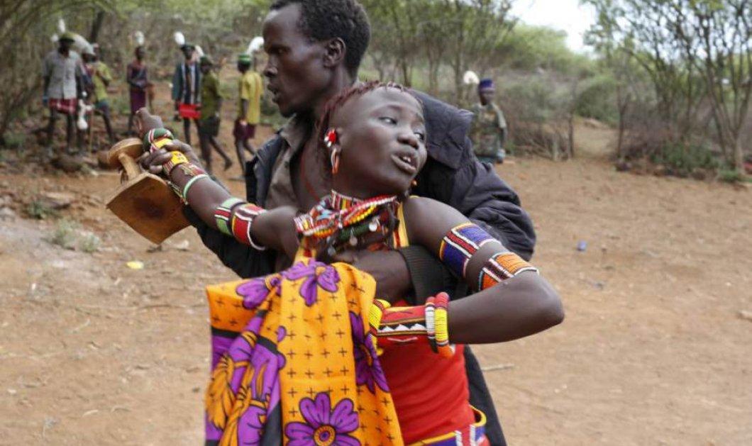 Συγκλονιστικές εικόνες με νεαρές Αφρικανές που τις παντρεύουν με την βία με αντάλλαγμα αγελάδες & κατσίκες ! (slideshow) - Κυρίως Φωτογραφία - Gallery - Video