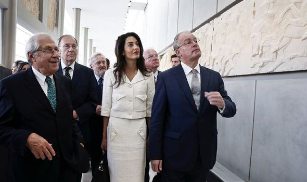 """Daily Mail: «""""Τίτλοι τέλους"""" για την κυρία Κλούνεϊ; Αλλάζει στάση η κυβέρνηση Τσίπρα για τα Ελγίνεια» - Κυρίως Φωτογραφία - Gallery - Video"""