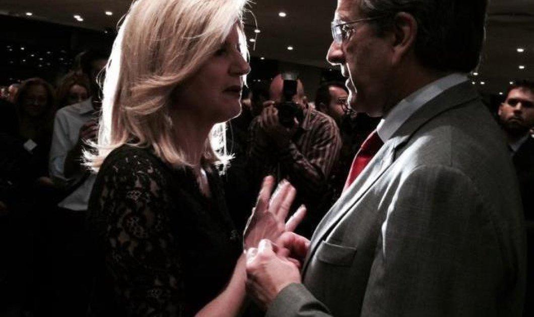 Aριάννα Huffington Στασινοπούλου: Τρυφερό τετ α τετ με τον Α. Σαμαρά - Η συνάντηση έκπληξη με την υπέργηρη καθηγήτρια της! (φωτό) - Κυρίως Φωτογραφία - Gallery - Video
