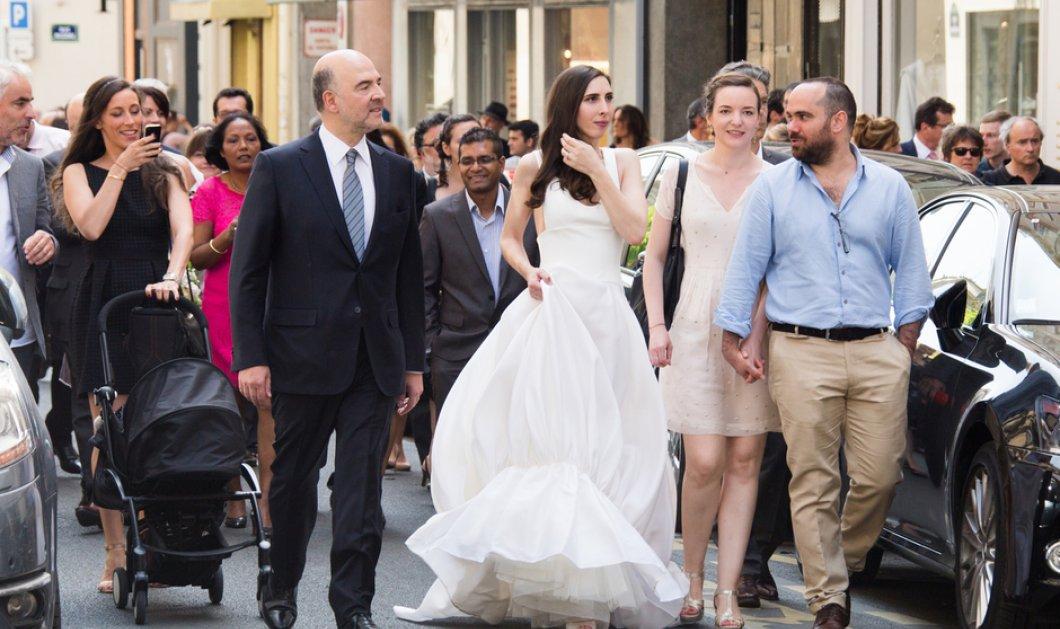 Όλα όσα έγιναν στον γάμο του 57χρονου Πιερ Μοσκοβισί με την χαριτωμένη 35χρονη Αν Μισέλ Μπαστερί - Κυρίως Φωτογραφία - Gallery - Video