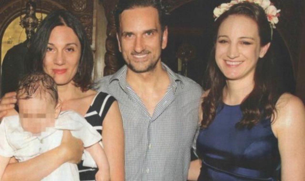 Νίκος Ψαρράς - Έλενα Καρακούλη: Όλα όσα έγιναν στη βάφτιση του μονάκριβου γιού τους στο Μαρούσι  - Κυρίως Φωτογραφία - Gallery - Video