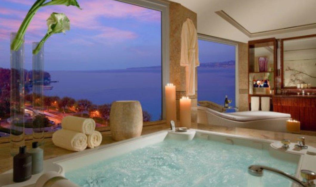 Ποια ελληνική σουίτα βρίσκεται ανάμεσα στα 5 πιο ακριβά δωμάτια ξενοδοχείων του κόσμου ;   - Κυρίως Φωτογραφία - Gallery - Video