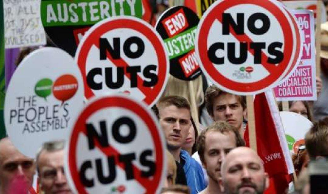 """Μαζικές διαδηλώσεις Γαλλίας και Γερμανίας, υπέρ της Ελλάδας: """"Η λιτότητα σκοτώνει"""" - Κυρίως Φωτογραφία - Gallery - Video"""