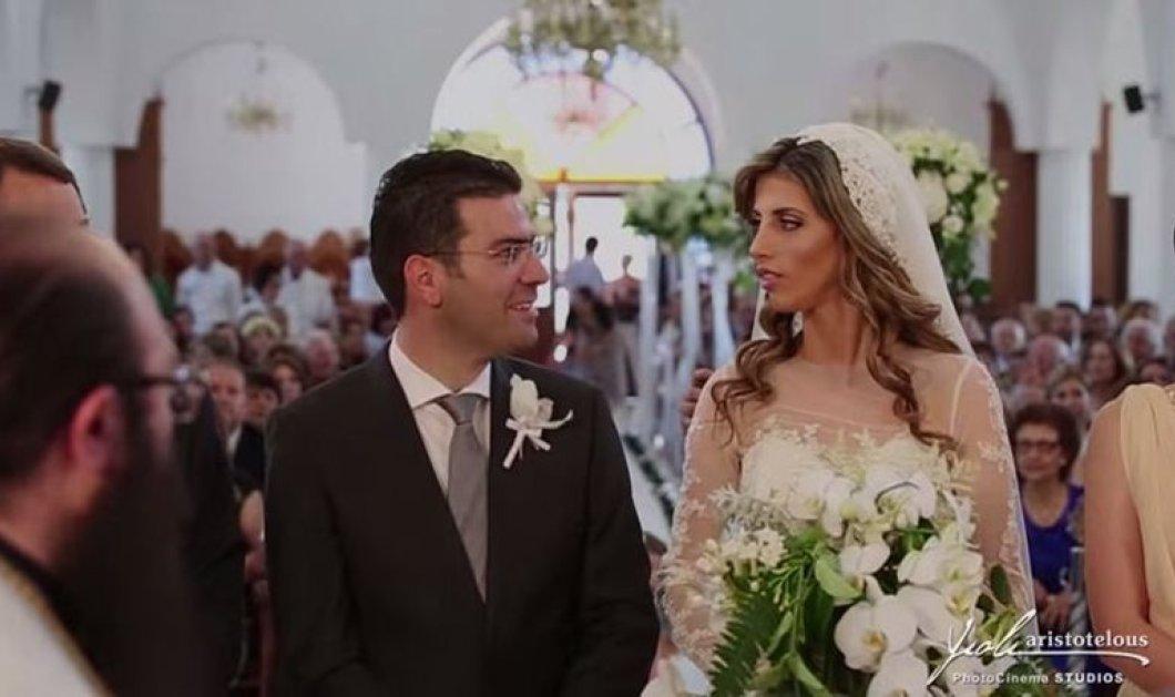 Ο πιο πολυπληθής γάμος στην ιστορία: Κύπριος βουλευτής παντρεύτηκε με 9.000 καλεσμένους την καλλονή γυμνάστρια του & κουμπάρο τον Πρόεδρο της Δημοκρατίας - Κυρίως Φωτογραφία - Gallery - Video