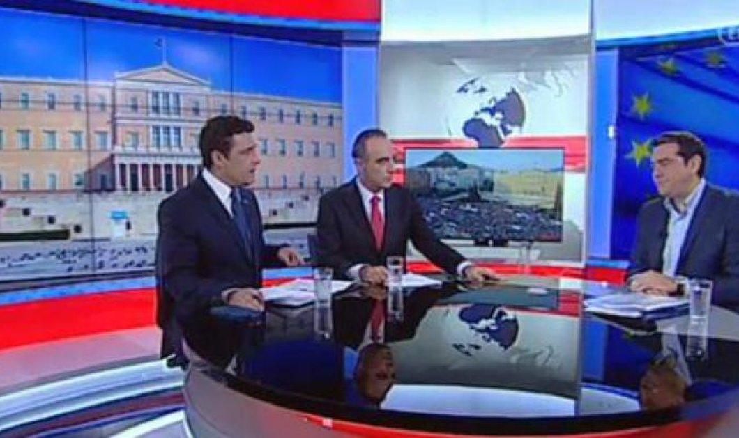 Τσίπρας στην ΕΡΤ: ''Εγώ δεν είμαι πρωθυπουργός παντός καιρού - Δεν αγάπησα την καρέκλα'' - Κυρίως Φωτογραφία - Gallery - Video